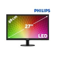 """PHILIPS 273V5LHSB/00 27"""" 1MS HDMI/VGA VESA FullHD Monitör"""