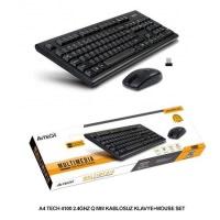 A4 TECH 4100 Q USB KABLOSUZ KLAVYE MOUSE SET