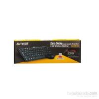 A4 Tech 6200N 2.4G Kablosuz Klavye Mouse Set