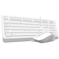 A4 Tech F1010 BEYAZ USB Klavye Mouse Set