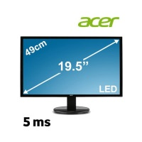 "Acer K202HQLAB 19.5"" 5ms (Analog) Led Monitör"