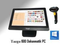 "TAZGA 1610BW J1900/4GB/120GB 15.6"" Barkod Okuyucu W10 AIO PC"