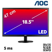"AOC E970SWN 18.5"" LED MONİTÖR"