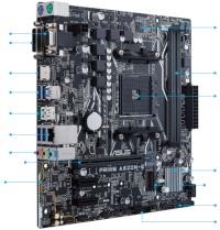 ASUS PRIME A320M-E A M4 DDR4 3200 HDMI DVI VGA M2 MATX ANAKART