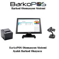 BarkoPOS Plus Otomasyon Paketi (Dokunmatik Pc,Program, Okuyucu ve Yazıcı)