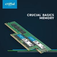 Crucial Basics UDIMM CB4GU2400 4GB DDR4 2400MHz CL17 Ram