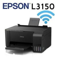 Epson L3150 Wi-Fi + Tarayıcı + Fotokopi Renkli Çok Fonksiyonlu Tanklı Yazıcı