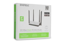 Everest EWR-521N4 300Mbps Smart Access Point-Router Kablosuz Repeater