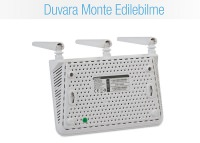 Everest EWR-F303 2.4GHz 300Mbps 1Wan + 3Lan Portlu Wireless Router