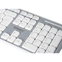 EVEREST KM-6063 Q USB BEYAZ KABLOSUZ SET