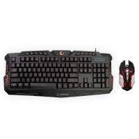 EVEREST Rampage KM-R77 Siyah 3 Farklı Ledli Gaming Klavye