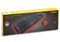 Everest ROUND KM-6282 Kablosuz Q Multimedia Klavye + Mouse Set