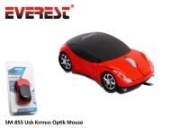 Everest SM-855 Araba Motifli Optik Mouse