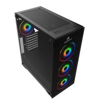 GAMEBOOSTER GB-PE05B 600w 80+ USB3.0 Full SİYAH KASA