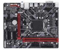 GIGABYTE B365M-H DDR4 2666MH 1151P9N VGA+HDMI ANAKART