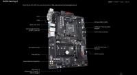 GIGABYTE B450 GA MING X A M4 M2 Sata3 HDMI DVI-D USB3.1 ANAKART