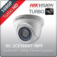 HAİKON 2MP 1080P 2.8MM DOME KAMERA DS-2CE56D0T-IRPF
