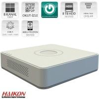 Haikon DS-7108HGHI-F1/N 8 Kanal DVR Kayıt Cihazı