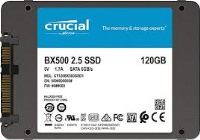 Crucial 120GB BX500 3DNAND 540/500MB SSD
