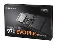 SAMSUNG 970 EVO 250GB M.2 NVMe 3500MB/2300MB SSD