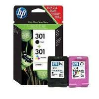 HP N9J72A 301 Siyah-Renkli Kartuş Set