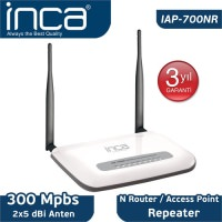 İnca Iap-700NR 300 Mbps N Router / Access Point / Repeater