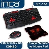 İnca Ikg-330 Gamıng Klavye+Mouse+Mousepad Combo Set