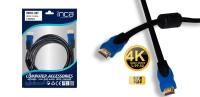 Inca IMHD-30T Altın Uç 3 Metre HDMI Kablo