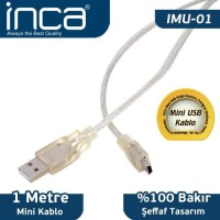 İnca Imu-01 Usb To Mini Usb 1Mt Kablo Blister