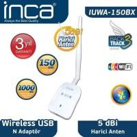 İnca Iuwa-150Bx 150 Mbps 11N Harici 5dbi Anten Wireless Adaptör 1 Km Menzilli