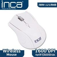 """İnca Iwm-121Rm 2.4Ghz Wireless Nano Alıcılı """"Pil Hediyeli"""" Mouse Buzmavi"""
