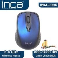 İnca Iwm-200R 2.4Ghz Lacivert Wireless Nano Mouse