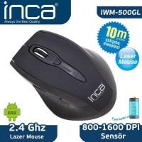 İnca Iwm-500Gl 2.4GHz 800-1600Dpi Nano Laser Kablosuz Mouse