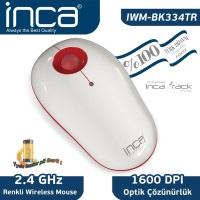 İnca Iwm-BK334TR İnca-Track 1600 Dpi Wireless Nano Alıcılı
