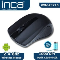 İnca Iwm-T371S Wireless Opticall Mouse  Siyah