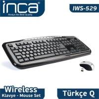 Inca IWS-529 2.4 Ghz Kablosuz Klavye - Mouse Set
