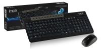 INCA IWS-589 Wireless Multimedia Super Cosy Klavye & Mouse Set