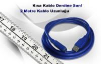 Inca USB to USB 3.0 2m Uzatma Kablosu IUSB-020T