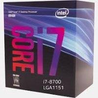 Intel Coffee Lake  i7 8700 1151 3.2GHz 12MB Önbellek 14nm İşlemci