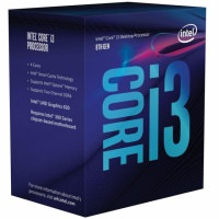 INTEL Core i3 8100 1151-V.2 Soket 3.6GHz 6MB Önbellek 14nm İşlemci