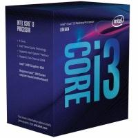 INTEL Core i3 8100 1151-V.2 Soket 3.6GHz 6MB Önbellek 14nm İşlemci