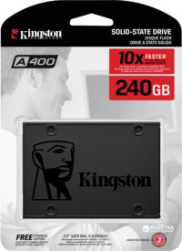 Kingston 240GB A400 Serisi Sata 3.0 Cache SSD (500MB / 350MB)
