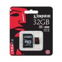 KINGSTON 32GB MICRO SD KART 90MB 4K CLAS10