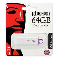 KINGSTON 64GB USB 3.0 DTIG4/64GB USB  BELLEK