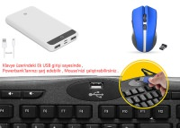 EVEREST KB-799 Siyah USB 1*USB Hub Q Multimedia Klavye