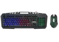Everest Kmx-99 Gökkuşağı Oyuncu Klavye Mouse Set