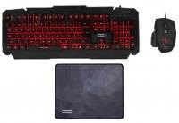 Hiper Dark Vane V10 Gaming Klavye Mouse Mouse Pad Set
