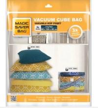 Magic Saver Bag 2'li Küp Vakumlu Poşet Seti (JUMBO)