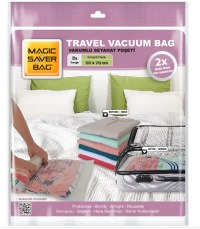 Magic Saver Bag 2'li Seyahat Vakumlu Poşet Seti (L)