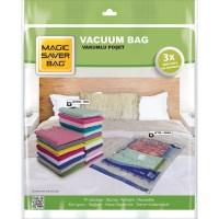Magic Saver Bag 5'li Vakumlu Poşet Seti (2 L + 1 XL + 2 JUMBO)